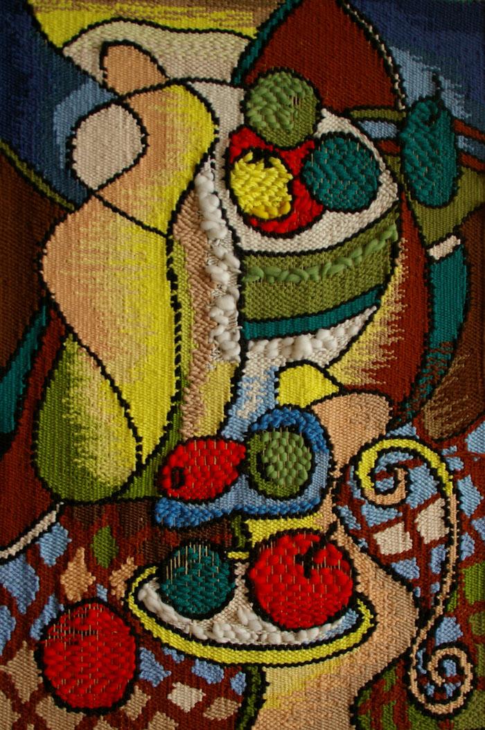 "Евдокимова Н.С. ""Диалог с Пикассо"", 99х64 см, СГТУ спец. ДПИ, г. Саратов, 2011г."