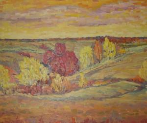Осень 2006г. х.м.80х100