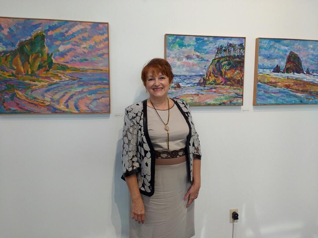 Выставка Е. Мальцевой в Канзас Сити 6окт17г.