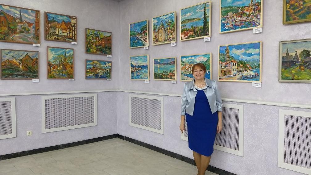 Елена Мальцева Выставка ЧЕТЫРЕ ОБРАЗА ВРЕМЕНИ Серии Германия и Черногория