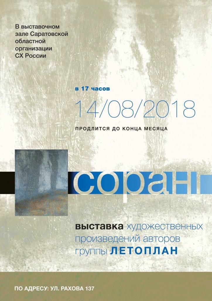Соранг Летоплан 2018